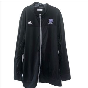 Men's Adidas Black Full Zip Track jacket 3XL